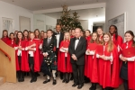Choir of St George's School, Ascot & Adam Afriyie MP